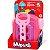 Brinquedo Didático e Educativo Carrinho com Caçamba Cardoso Toys Baby Land Mipuxa Rosa - Imagem 1