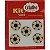 Botões Divertidos Kit Super Criativo Bola de Futebol PT c/ 5 Unidades - Imagem 1