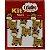 Botões Divertidos Kit Super Criativo Girafa Regular PT c/ 5 Unidades - Imagem 1
