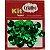 Super Lantejoula Verde Bandeira Kit Super Criativo 14mm PT c/ 10 grs - Imagem 1