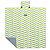 Tapete Portátil Impermeável Verde Limão e Azul - MULTIKIDS BABY - Imagem 3