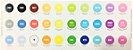 Brush Pen Newpen Ginza - Caixa com as 30 cores! - Imagem 2