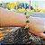 Pulseira Capim Dourado c/ Pedra Natural Ágata Verde Cód. P413 - Hipoalergênico - Imagem 1
