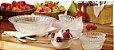 Conjunto 7 Peças Tigelas Sobremesa Crystal Transparente  - Wheaton - Imagem 3