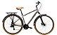 Bicicleta Aro 700 Unissex - Groove Blues - Shimano Tourney - Alumínio - Cor Grafite - Imagem 2