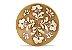 Incensário de Cerâmica em Floral - Branco - Imagem 1