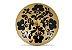 Incensário de Cerâmica em Floral - Preto - Inca aromas - Imagem 1