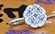 Marcador de livro - Flor Azul de Porcelana - Qīng Huācí (青花瓷) - Imagem 1