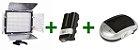 COMBO LED YN300 + BATERIA NP-F570 + CARREGADOR  - Imagem 1