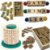 Kit Alfabetizar II + dominó - 6 JOGOS: Alfabeto silábico, Alfabeto, 3 jogos Letrinhas, Dominó Animais - Imagem 1
