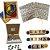 Kit Letras- 6 Jogos- Tabuleiro, Forme Palavras, 3 Jogos Letrinhas e Fio passante formas geométricas - Imagem 1