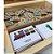 Kit Letras- 6 Jogos- Tabuleiro, Forme Palavras, 3 Jogos Letrinhas e Fio passante formas geométricas - Imagem 7