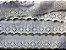 Tira Bordada 5,60 cm - 100% algodão branco   Peça com 14,40 m  - Imagem 3