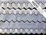 Tira Bordada 7,00 cm - MISTO 92% Algodão 8% Poliéster branco | Peça com 14,40 m - Imagem 3