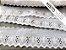 Tira Bordada 5,50 cm - MISTO 92% algodão 8% branco | Peça com 14,40 m - Imagem 3