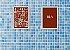 Kit Quadro Banheiro Masc Fem com Moldura e Vidro - Imagem 3