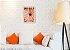 Quadro Decorativo comida laranja Com Moldura E Vidro - Imagem 5