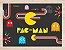 Quadro Games Vintage Pac-Man com Moldura E Vidro - Imagem 2