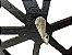 Porta Chaves Em Mdf Bicicleta Com Ganchos Enfeite Preto - Imagem 5