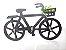 Porta Chaves Em Mdf Bicicleta Com Ganchos Enfeite Preto - Imagem 1