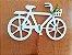 Porta Chaves Em Mdf Bicicleta Com Ganchos Enfeite Preto - Imagem 2