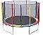 Cama Elastica 3.05M Colorida Trampolin Pula Pula - Imagem 1