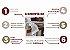 Jogo de Banho 5 Peças Imperiale Gigante Grande Rosa Blush - Imagem 4