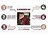 Jogo de Banho 5 Peças Gigante Refinata Vermelho Vinho - Imagem 4