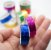 Fita Adesiva Decorativa Holográfica Washi Tape kit c/12 und. - Imagem 2