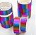 Fita Adesiva Decorativa  Washi Tape c/glitter arco iris  kit c/10 und. - Imagem 2
