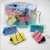 Binder Clips Coloridos Tons Pastel 25mm  c/48pcs BN318 - Imagem 1