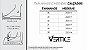 Tenis Plataforma Feminino Preto Flatform com Listras - Imagem 7