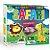 Quebra Cabeça Pais e Filhos em madeira - safari - Imagem 1