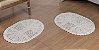 2 Tapetes Oval P  - Imagem 1