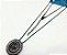 Colar De Ródio Com Pingente De Pedra Lilás Do Signo do Zodíaco -  Câncer - Imagem 1