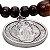 Pulseira de Madeira com Medalha de São Bento - Imagem 2