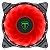 Cooler Fan Led Vermelho 120x120x25 12cm T-Dagger T-TGF300-R - Imagem 1