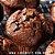 Muffin de Chocolate Recheado com Gotas de Chocolate 70% - ( 1und ) 70 gramas - Imagem 1