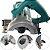 Serra Mármore 1.200W Azul Profissional SA4301 SA Tools - Imagem 1