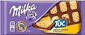 Milka Chocolate ao Leite coberto com biscoito TUC 87g - Imagem 1
