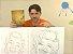 Curso 2. Vídeo Aula 02 - Caricaturas Femininas (entrega via Download) - Imagem 2