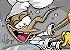 Mosquito Chef de Cozinha colorido (imagem em vetor) - Imagem 2