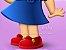 Menina de vestudo azul (imagem em vetor) - Imagem 2