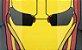 Protetor Facial adulto - Super-herói HF2 - Imagem 4