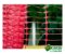 Tela Plástica Tapume 1,20 x 50 m - Laranja e branco - Imagem 3