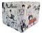 Carteira Porta Cédulas Naruto Sasuke Mangá - Imagem 2