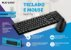 Teclado E Mouse Sem Fio 2.4ghz Multilaser Usb Preto Tc251 - Imagem 4