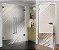 Adesivo jateado cantoneira - Kit 2 peças de 90x90 (serve para qualquer porta ou janela) - Imagem 1