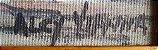 Alcy Vianna - Quadro, Pintura Óleo sobre Eucatex - Barcos - Assinada - Imagem 3