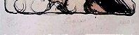 Daro - Quadro intitulado Segredo, Arte em Gravura sobre Eucatex, de 1981 - Imagem 3